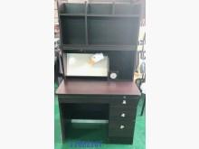 [8成新] 中古/二手 胡桃色兒童書桌上下座書桌/椅有輕微破損