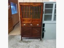 [9成新] 老件檜木菜櫥其它櫥櫃無破損有使用痕跡