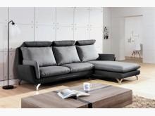[全新] 阿瑟L型貓抓皮沙發L型沙發全新