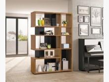 [全新] 克洛澤4.5尺造型雙面書櫃書櫃/書架全新