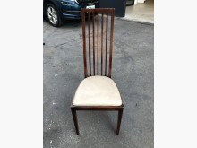 非凡二手家具 胡桃實木皮面餐椅餐椅無破損有使用痕跡