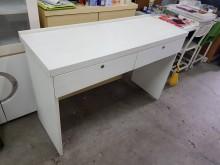 毅昌二手家具~全木心板雪松4尺桌書桌/椅有輕微破損