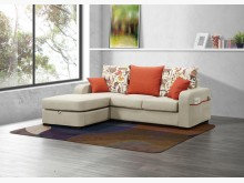[全新] 黛絲L型布沙發(可變換左右向)L型沙發全新