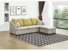[全新] 貝萊妮L型布沙發(可變換左右向)L型沙發全新