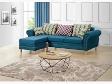[全新] 納坦L型布沙發L型沙發全新
