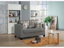 [全新] 貝拉二人座灰色布沙發雙人沙發全新