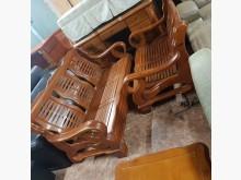[9成新] 3+2木沙發木製沙發無破損有使用痕跡