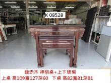 [8成新] K08528 雞赤木 神明桌神桌有輕微破損