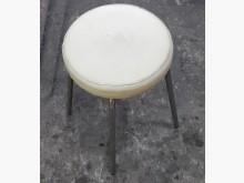 [8成新] G1024BJ 白色皮面美容椅鏡台/化妝桌有輕微破損