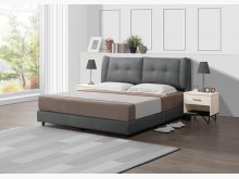 [全新] 查極貓抓皮6尺床片+床底雙人床架全新