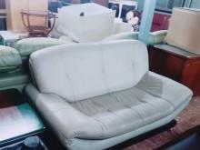 [9成新] 雙人皮沙發雙人沙發無破損有使用痕跡