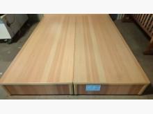 [9成新] 大台北二手傢俱-雙人床底(6分)雙人床架無破損有使用痕跡