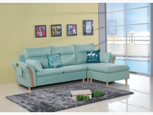 [全新] 阿茲卡  L型布沙發$19500L型沙發全新