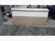 白橡五尺床頭櫃 床頭箱床頭櫃無破損有使用痕跡