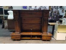 [9成新] 伊諾其實木電視櫃 高低櫃電視櫃無破損有使用痕跡