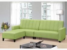 [全新] 青蘋果貓抓皮L型沙發$19800L型沙發全新