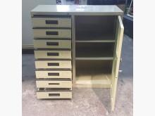 [9成新] 三尺七抽辦公文件櫃 OA鐵櫃辦公櫥櫃無破損有使用痕跡