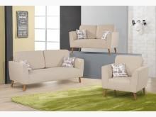 [全新] 費德莉123型布沙發$24300多件沙發組全新