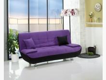 [全新] 坐臥兩用布面沙發床紫$7500沙發床全新
