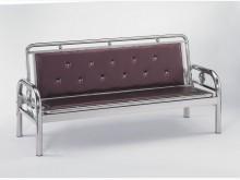 [全新] 不鏽鋼坐臥兩用皮面沙發床6000沙發床全新