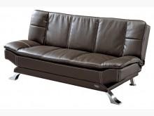 [全新] 豪派克咖啡色皮面沙發床$9500沙發床全新