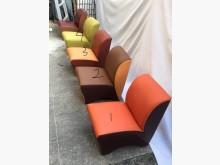 [全新] 半牛皮雙色小沙發椅 共12色可選單人沙發全新