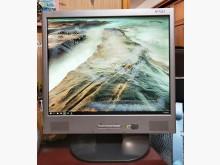 二手17吋彩色液晶螢幕電腦顯示器電腦產品有明顯破損