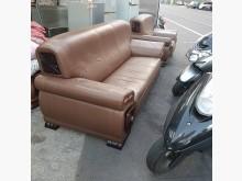 [9成新] 3+1歐式皮沙發多件沙發組無破損有使用痕跡