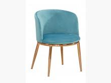 [全新] 羅蘭藍色布餐椅餐椅全新