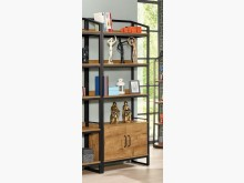 [全新] 布朗克斯2.7尺開門書櫃書櫃/書架全新