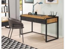 [全新] 布朗克斯4尺三抽書桌書桌/椅全新