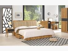 [全新] 喬納森6尺床頭抽屜底床組雙人床架全新