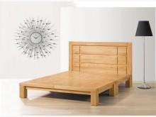 [全新] 阿波羅5尺實木床台雙人床架全新