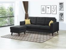 [全新] 英倫L型布沙發L型沙發全新
