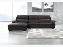 [全新] 道奇L型皮沙發L型沙發全新