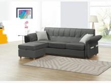 [全新] 歐克莉L型皮沙發L型沙發全新