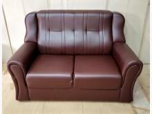 [全新] 138型酒紅色雙人沙發 桃區免運雙人沙發全新