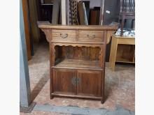 [9成新] 實木玄關桌92*35*105其它桌椅無破損有使用痕跡