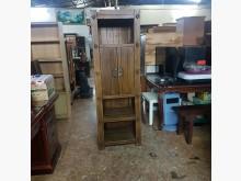 [9成新] 全實木復古風置物櫃其它櫥櫃無破損有使用痕跡