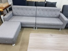 [全新] 毅昌二手家具~全新強韌皮L型沙發L型沙發全新