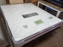 毅昌二手家具~全新6環硬式護背床雙人床墊全新