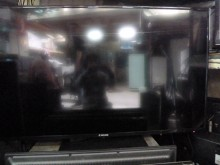 [8成新] LED 大同55吋液晶色彩鮮艷電視有輕微破損
