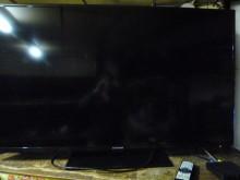 [8成新] 李太太~大同55吋LED色彩鮮艷電視有輕微破損