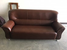 [全新] 卯釘古典沙發組(獨立筒坐墊)雙人沙發全新