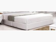[全新] 白色5尺皮革厚床底$8600雙人床架全新
