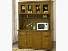 [全新] 斑尼頓 柚木半實木5.2尺餐櫃碗盤櫥櫃全新