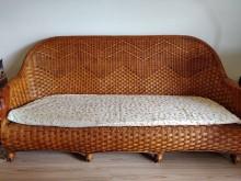 [95成新] 頑石籐制沙發客廳組3+2+1籐製沙發近乎全新