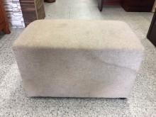 [8成新] 香榭二手家具*麻花布長方形輔助椅沙發矮凳有輕微破損