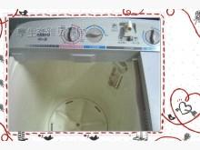 [9成新] ☆二十年老店☆三洋雙槽洗衣機洗衣機無破損有使用痕跡