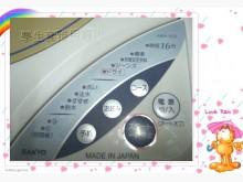 [9成新] *拆洗消毒內槽*套房用小洗衣機洗衣機無破損有使用痕跡
